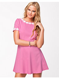 Ax Paris Daisy Neck Skater Dress