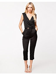 Ax Paris Wrap Over Jumpsuit