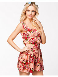 Ax Paris Flower Printed Playsuit