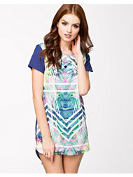 Ginger Fizz Rainbow Rush Shift Dress