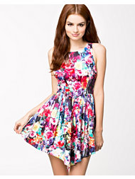 Ginger Fizz Picturesque Dress