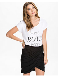 A Question Of Boys Scoop Neck T-shirt