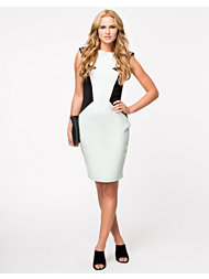 Little Mistress Contrast Bodycon Dress