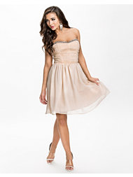 Little Mistress Rouched Babydoll Dress