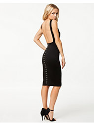 Oh My Love Hook An Eye Cut Out Dress