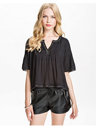Denim & Supply Ralph Lauren Studded Peasant Shirt
