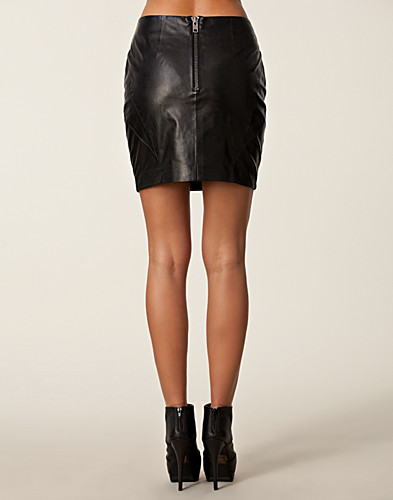 KJOLAR - 2ND DAY / NIGHT SPEED LEATHER SKIRT - NELLY.COM