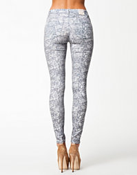 2nd One Jeans Grey Snake