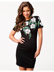 Lashes Of London Floral Embellished Dress