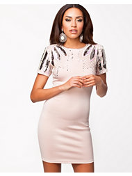 Lashes Of London Embellished Deco Dress