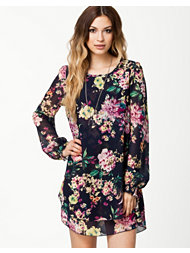 Madame Rage Long Sleeve Flower Dress