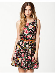 Madame Rage Sleeveless Flower Dress