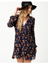 Madame Rage Flower Wrap Dress
