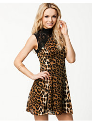 Madame Rage Lace Leopard Dress