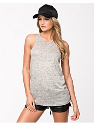 T By Alexander Wang Heather Linen Tank Top