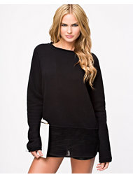 T By Alexander Wang Robust French Mesh Sweatshirt