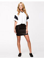 T By Alexander Wang Scuba Pencil Skirt