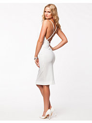 Solace London Curtis Strappy Low Back Midi Dress