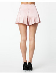 Oh My Love High Waisted Satin Shorts