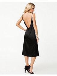 Oh My Love Amelia Side Split Scoop Back Dress