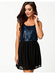Oh My Love Sequin Body Cami Dress