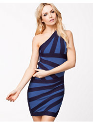 Lasula Premium One Shoulder Bandage Dress