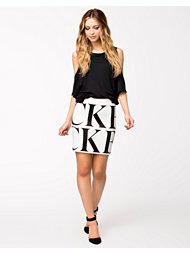BACK Logo Elastic Skirt