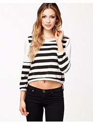Madam Rage Stripe Zip Jumper