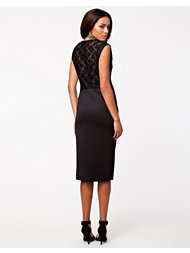 Madam Rage Lace Back Midi Dress