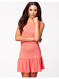 Madam Rage Rib Drop Waist Dress