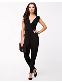 Jumpsuit, Cowl Neck Back Jumpsuit, Oneness - NELLY.COM