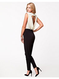 Oneness Cowl Neck Back Jumpsuit