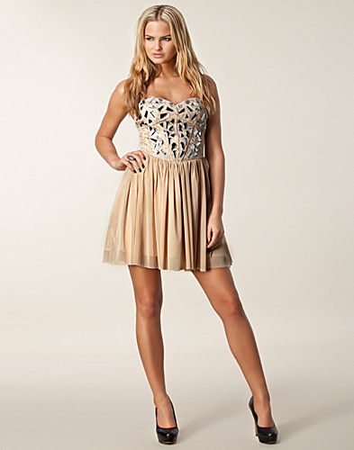 PARTY DRESSES - ONENESS / CANDICE CRYSTAL DRESS - NELLY.COM