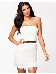 Oneness Fringe Belt Dress