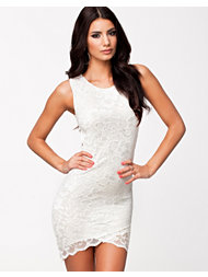 Oneness Scallop Lace Dress
