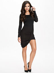 Oneness Long Sleeve Twist Dress