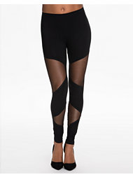 Estradeur Cut Out Mesh Leggings