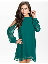 Oneness Open Sleeve Shift Dress
