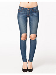 Catwalk 88 Busted Knee Jeans