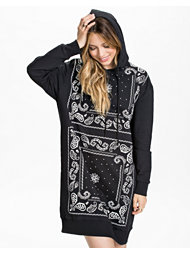 Estradeur Paisley Hooded Dress