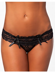 Bohemian Society Lace Thong
