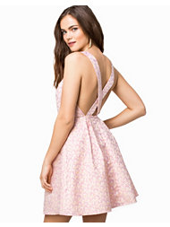 Madam Rage Cross back Skater Dress