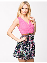 Madam Rage Floral Short Dress