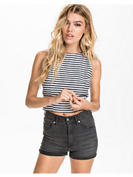 Madam Rage Stripe Crop Top