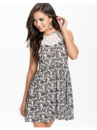 Madam Rage Paisley Skater Dress