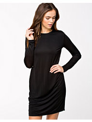 BACK Multi Zip Ls Dress
