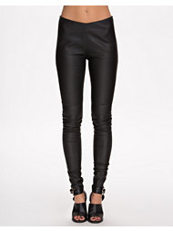 MM6 Maison Martin Margiela Soft Stretch Leather Pant