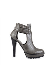 Bianco Cutout Party Boot