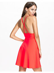 Oh My Love Skater Box Pleat Dress