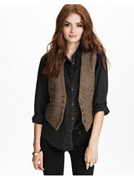 Denim & Supply Ralph Lauren Tweed Waistcoat
